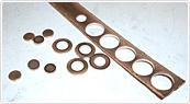 ドイツの鍛造メーカーであるフィッシャー・FISCHERの製造過程のくり抜き