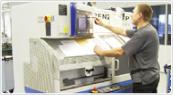 ドイツの鍛造メーカーであるフィッシャー・FISCHERの製造過程の掘削2