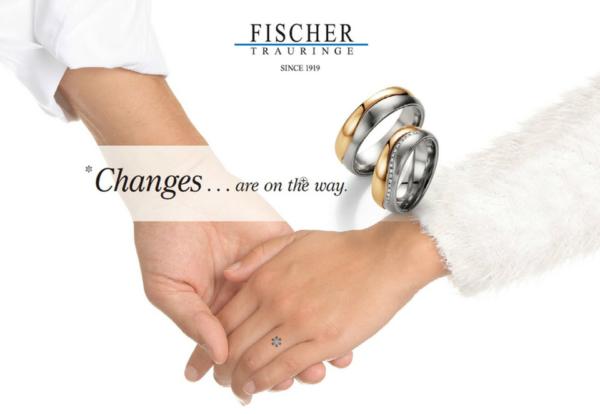 ドイツの結婚指輪メーカーのFISCHERで大阪・梅田の正規取扱店