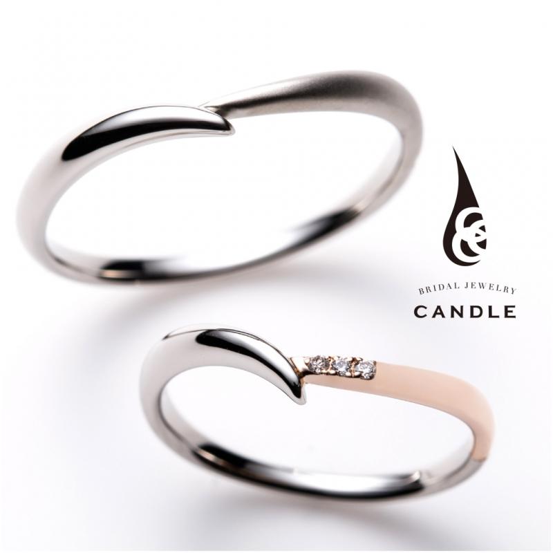 2色のコンビ低価格細め結婚指輪なら大阪茶屋町ブライダルリング専門セレクトショップgarden梅田13