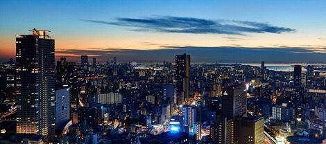 梅田でプロポーズするならおすすめのリッツカールトンから見える夜景