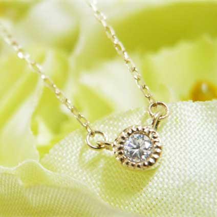 gardenフェスタ2020ダイヤモンドネックレス