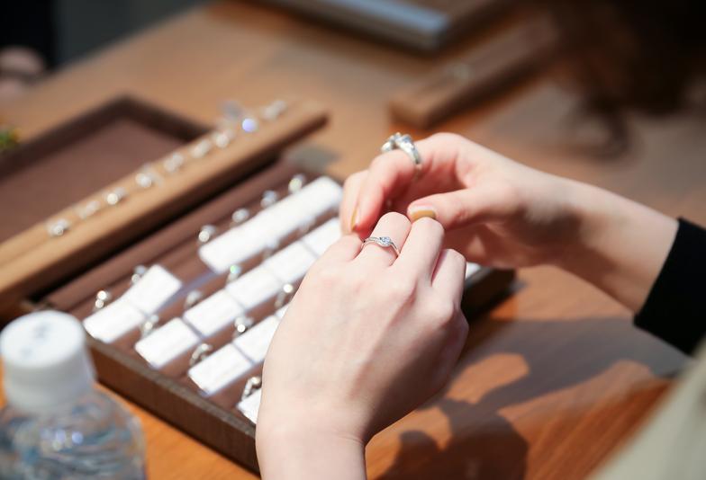 大阪梅田結婚指輪