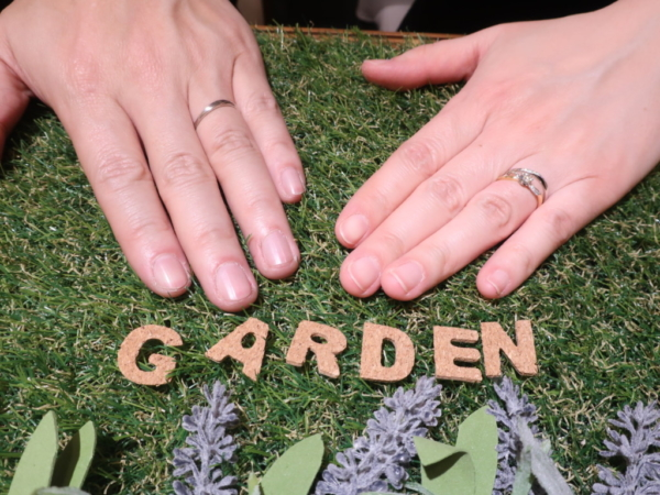 いい夫婦の結婚指輪 大阪市淀川区