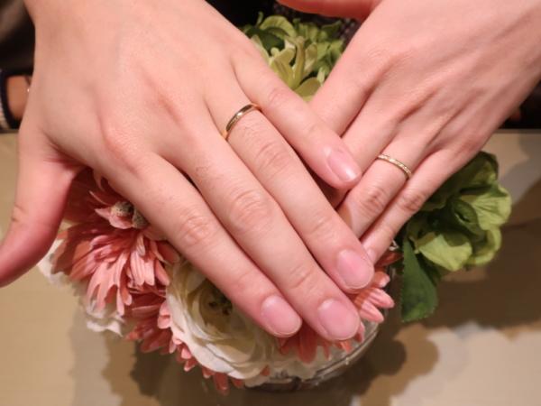 ORECCHIOの結婚指輪 大阪府摂津市