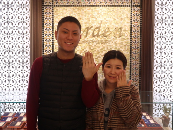 Maxiの結婚指輪 兵庫県神戸市灘区