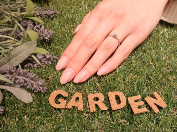 gardenオリジナルの婚約指輪 大阪府