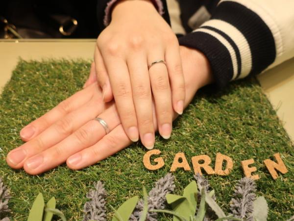 FISCHER・AMOURの結婚指輪 兵庫県尼崎市