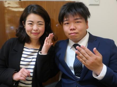 Milk&Strawberryの婚約指輪 大阪府茨木市