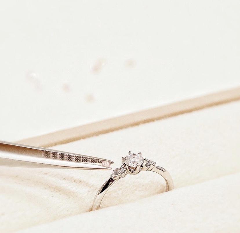 婚約指輪人気ブランドピンクダイヤモンドアレンジ可能なマリアージュは関西最大級ブライダルリング専門セレクトショップgarden梅田3