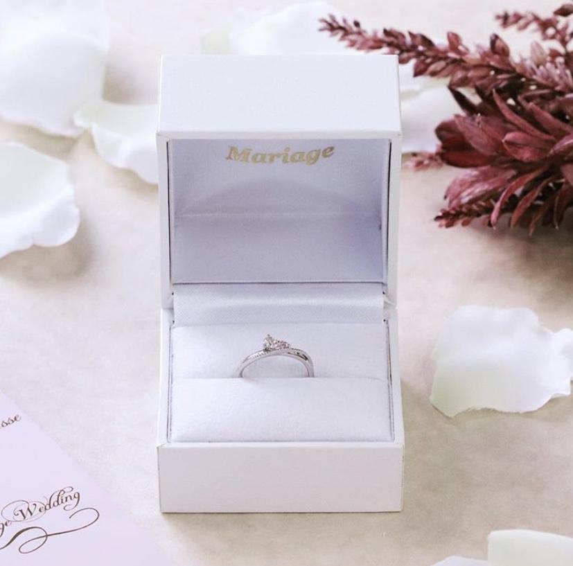 婚約指輪人気ブランドピンクダイヤモンドアレンジ可能なマリアージュは関西最大級ブライダルリング専門セレクトショップgarden梅田2