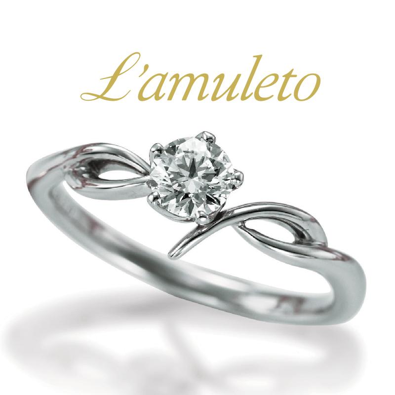 かわいいシンプルなバラモチーフ婚約指輪なら大阪茶屋町関西最大級のセレクトショップgarden梅田