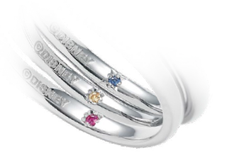 ディズニー美女と野獣結婚婚約指輪なら内側に宝石を入れられるデザインにこだわった大阪梅田茶屋町のgarden梅田のブライダルリング