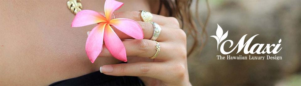 本場ハワイアンジュエリーのマキシ結婚指輪は大阪茶屋町の関西最大級ブライダルリングgarden梅田