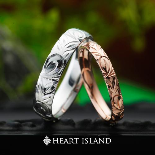 ハワイアンジュエリーの結婚指輪婚約指輪は大阪茶屋町garden梅田のハートアイランド7月分