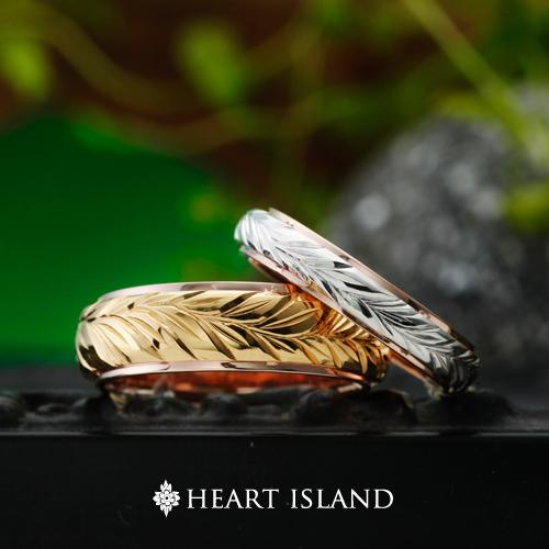 ハワイアンジュエリーの結婚指輪婚約指輪は大阪茶屋町garden梅田のハートアイランド6