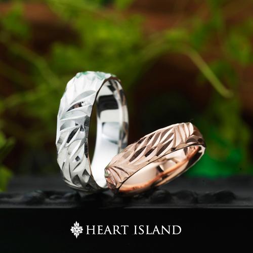 ハワイアンジュエリーの結婚指輪婚約指輪は大阪茶屋町garden梅田のハートアイランド4
