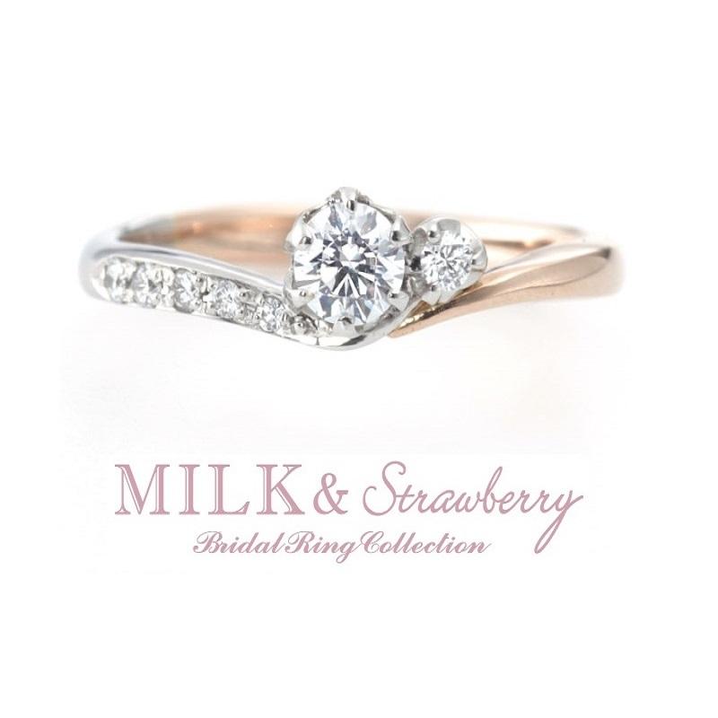 かわいいピンクダイヤモンドの結婚婚約指輪なら大阪茶屋町関西最大級のセレクトショップgarden梅田4