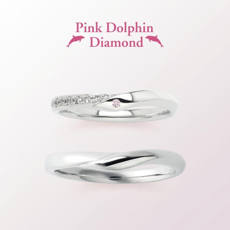 かわいいピンクダイヤモンドの結婚指輪なら大阪茶屋町関西最大級のセレクトショップgarden梅田1