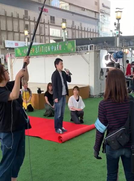 大阪梅田で公開サプライズプロポーズ
