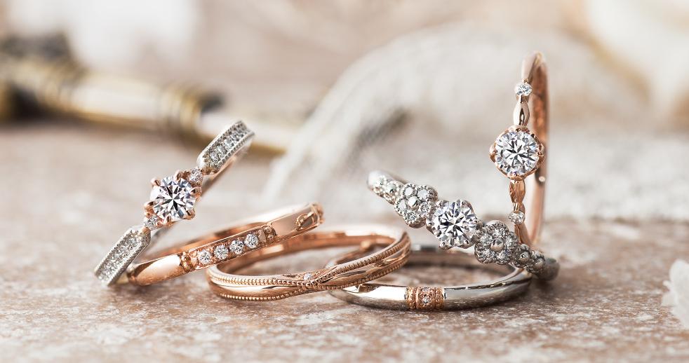 かわいい結婚婚約指輪なら大阪茶屋町関西最大級のセレクトショップgarden梅田