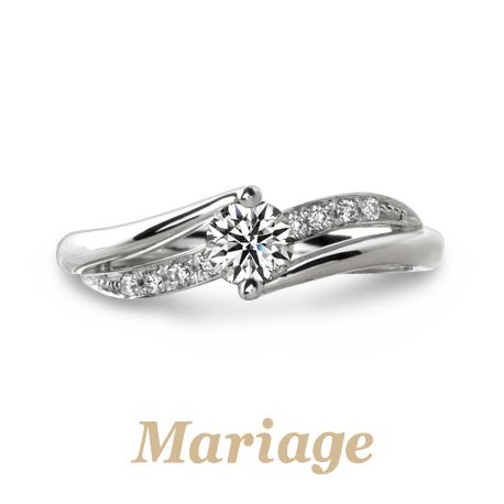 かわいいピンクダイヤモンドアレンジが出来る結婚指輪なら大阪茶屋町関西最大級のセレクトショップgarden梅田