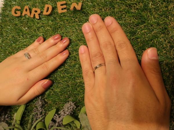 guiraの婚約指輪 ORECCHIOの結婚指輪 三重県名張市/東京都三鷹市