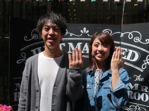 GERSTNER・FISCHERの結婚指輪 東大阪市