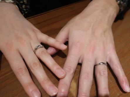 SWEET BLUE DIAMONDの結婚指輪 兵庫県西宮市/和歌山県和歌山市