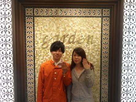 MILK&STRAWBERRYの結婚指輪 兵庫県宝塚市