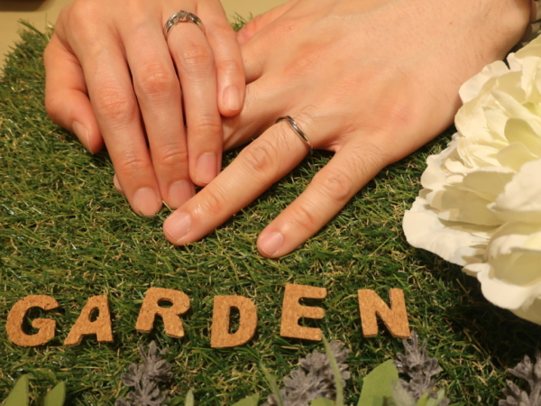 garden ORIGINALの婚約指輪 神戸市灘区/神戸市西区