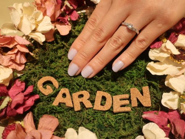gardenORIGINALの婚約指輪 大阪府吹田市/大阪府豊中市