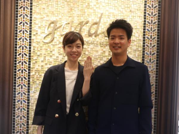 AMOUR AMULETの婚約指輪 奈良県/京都府