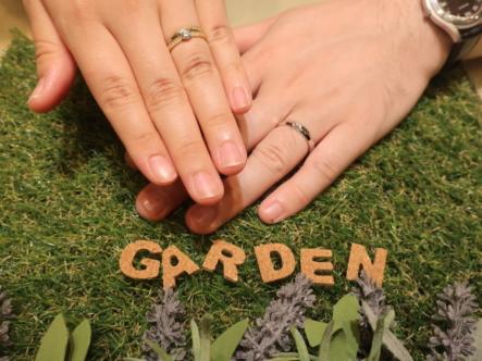 RosettE・AMOUR AMULETの結婚指輪 大阪府池田市