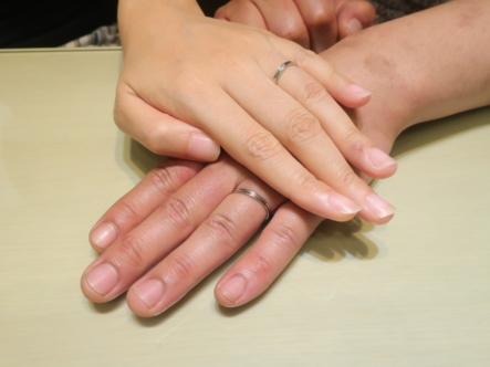 CANDLEの結婚指輪 大阪府豊中市