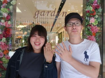 Something Blue Aitherの結婚指輪 兵庫県西宮市/大阪市東成区