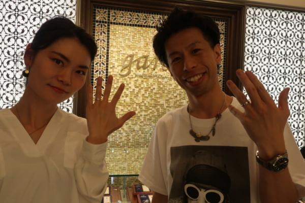 FISCHERの結婚指輪 大阪市北区