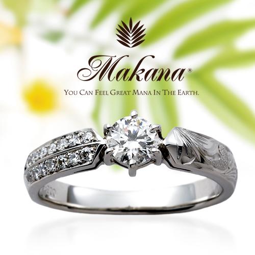 ハワイアンジュエリーのかっこいいダイヤモンド婚約指輪は大阪茶屋町の関西最大級ブライダルリングgarden梅田