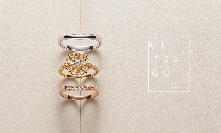 大阪市梅田結婚婚約指輪セミオーダー