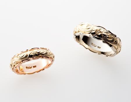ハワイアン大阪市梅田結婚指輪