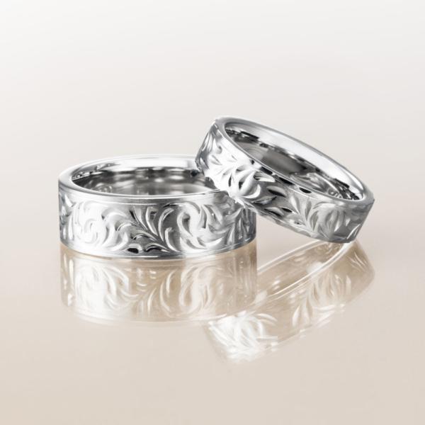 Makanaマカナの結婚指輪でフラットタイプの大阪・梅田・神戸・京都の正規取扱店3