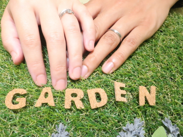 gardenオリジナルの婚約指輪・リエゾンの結婚指輪 大阪府守口市