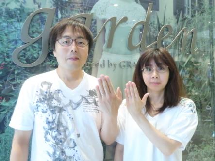GRAMAグラマの結婚指輪 大阪市東淀川区