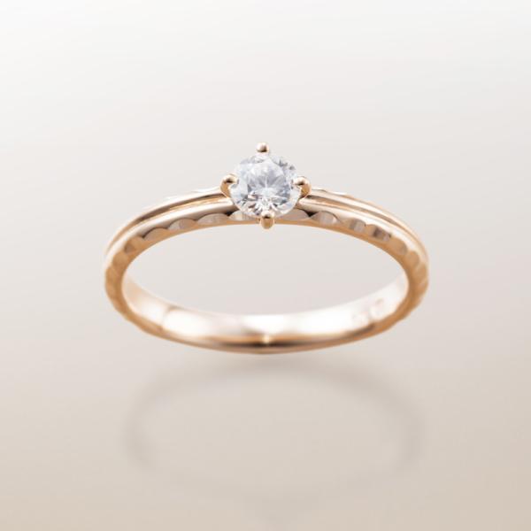Makanaマカナの婚約指輪でME-5のPGピンクゴールドの大阪・梅田・神戸・京都の正規取扱店