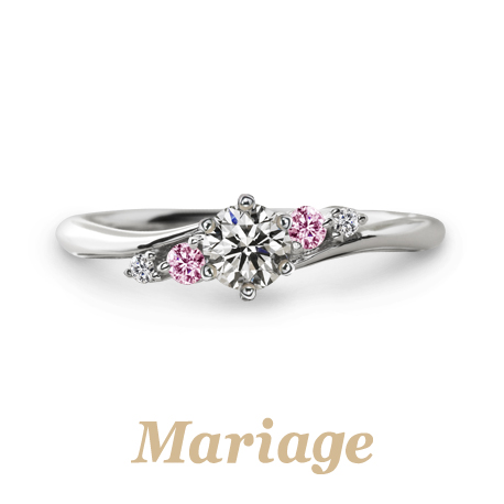 ピンクダイヤモンドのマリアージュを京都で探すならgarden梅田