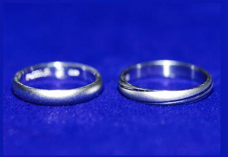 パイロットブライダルの指輪の製造工程8