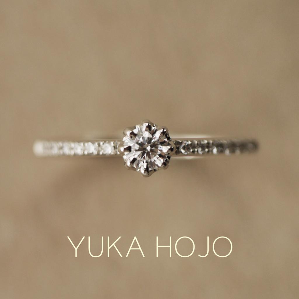 おしゃれな婚約指輪といえばユカホウジョウのヘブン