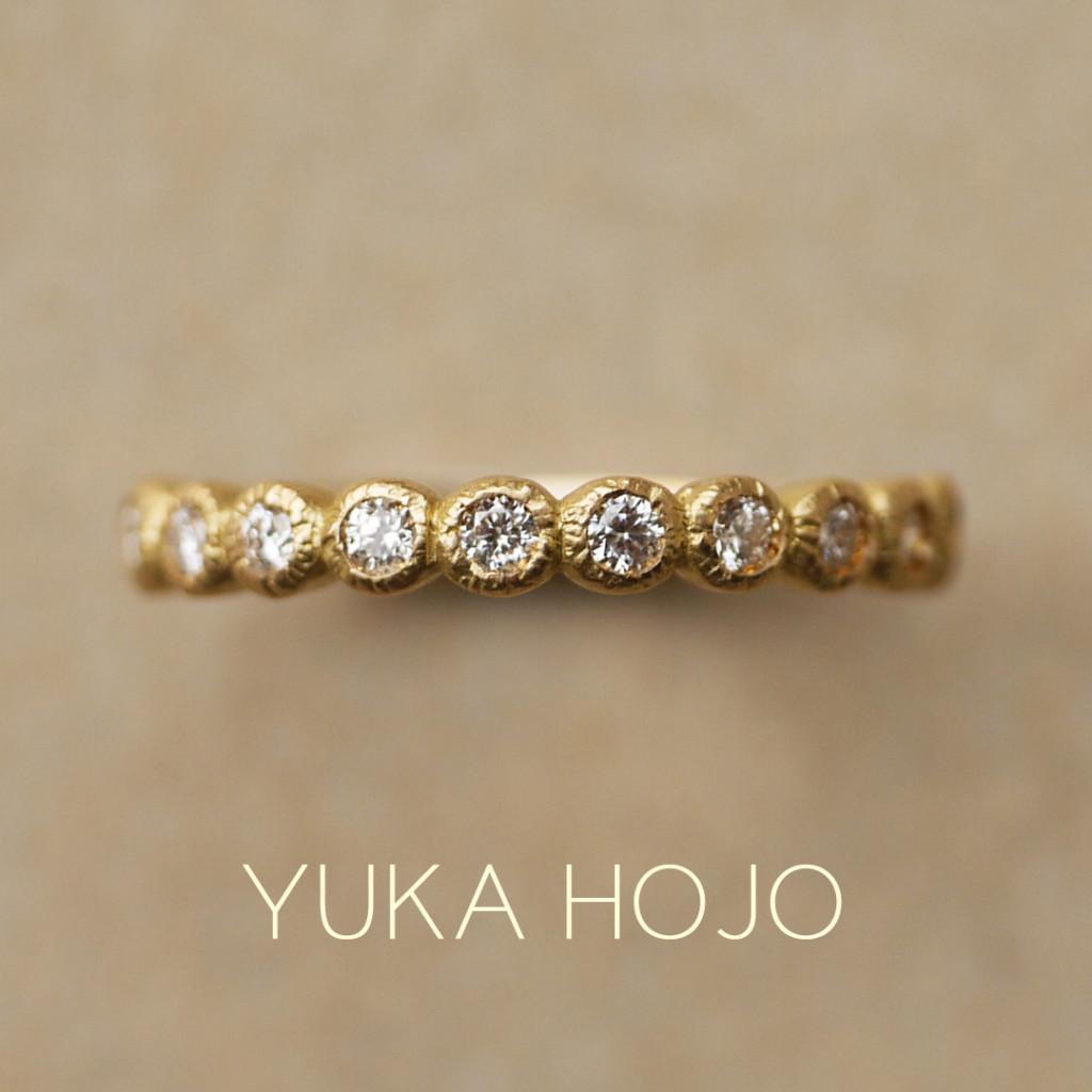 大阪梅田のおしゃれな婚約指輪と言えばユカホウジョウのブルーム