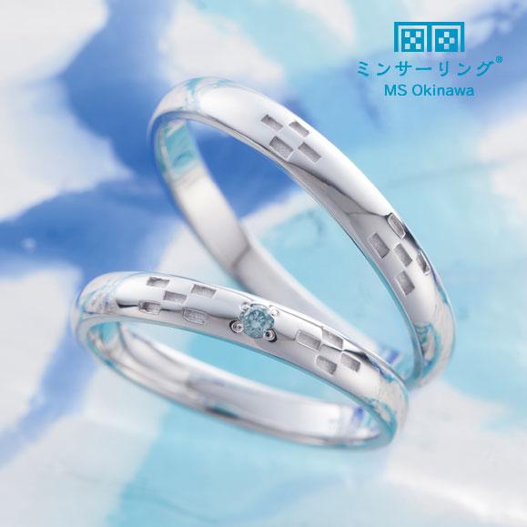 和ブランドで人気ミンサーリング結婚指輪は関西最大級セレクトショップ大阪のgarden梅田9