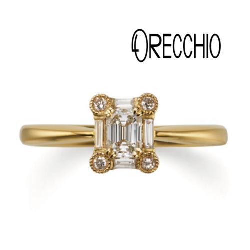 大阪梅田ゴージャスのオレッキオ婚約指輪は関西最大級のgarden